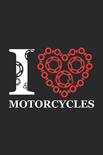 Motorcycles: Motorcycle Notebook Motocross Journal for Ednuro, Supermoto, Riders, Freestyle Moto-X on the Dirt Bike Track, coworkers and students, ... Medium College ruled notebook, 120 pages