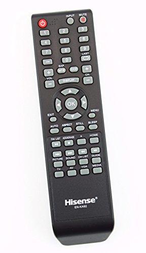 Original Hisense EN-KA92 LCD TV Remote Control Supplied with Models 32D37, 32H3B1, 32H3B2, 32H3C, 32H3E, 40H3B, 40H3C, 40H3E