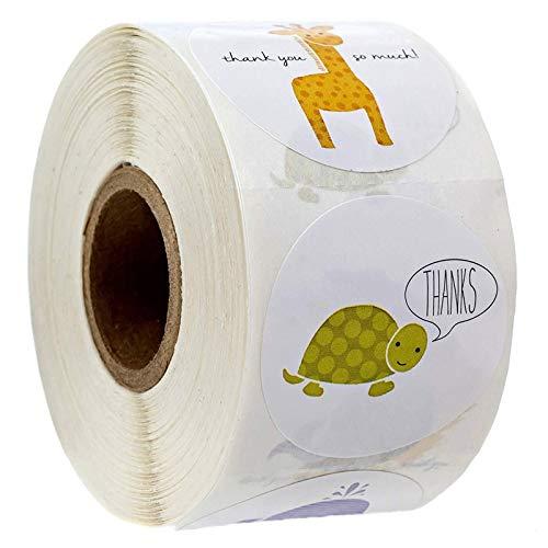 50-500pcs Animals cartoon Stickers for kids classic toys sticker school teacher reward sticker Various styles designs pattern