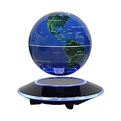 Dracarys Magnetic Levitation Floating Globe Obrotowy Świat Mapa Anti-Gravity Globe Dla Edukacyjnego Prezentu Home Office Classroom Desk Decoration