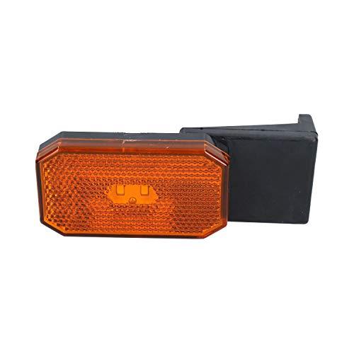 AB Tools LED Orange Orange Feux de gabarit/Caravane remorque Lampe 12V ou 24V