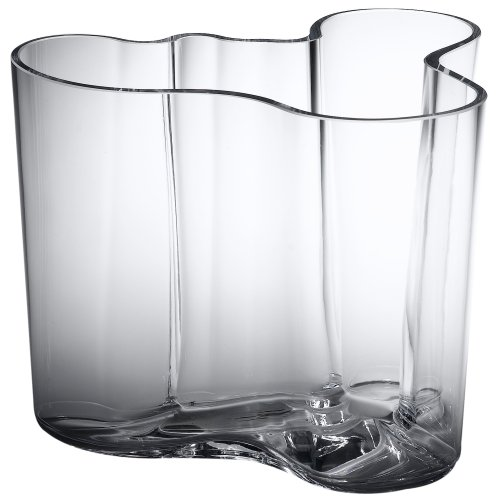 Iittala Aalto 6-1/4-Inch Glass Vase
