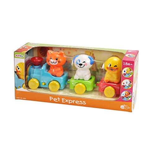 PlayGo 2815 – Animal – Express, Poussette Jouet