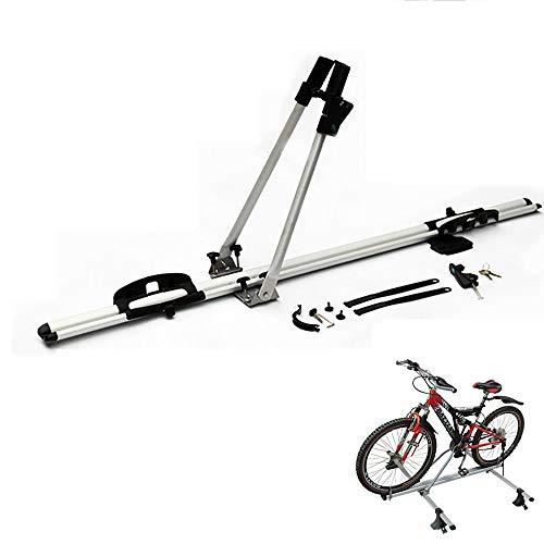 Yajun Portabicicletas Barra Techo Coche Soporte Bicicleta Montado Conveniencia De Seguridad Y Estilo Aerodinámico Bastidores De Bicicleta De Techo Herramientas De Bicicleta