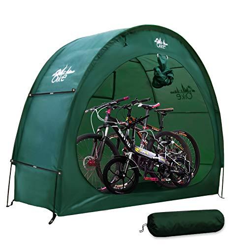XFL Fahrradzelt, Fahrradschuppen, Fahrradschuppen, Gartenaufbewahrung, staubdicht und wasserdicht, 190T Fahrradaufbewahrung für den Außenbereich