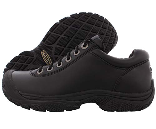 Big Sale Keen Utility Men's PTC Dress Oxford Work Shoe,Black,9.5 M US