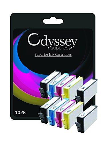 10 (2 juegos de 5) Cartuchos de tinta de impresora compatible para CANON PIXMA iP3600 iP4600, iP4700, MP540, MP 550, MP560, MP620, MP630, MP640, MP980, MP990, MX860, MX870 Impresora, 2x PGI-520BK, CLI-521BK 2x , 2x CLI-521C, CLI-521Y 2x, 2x CLI-521M