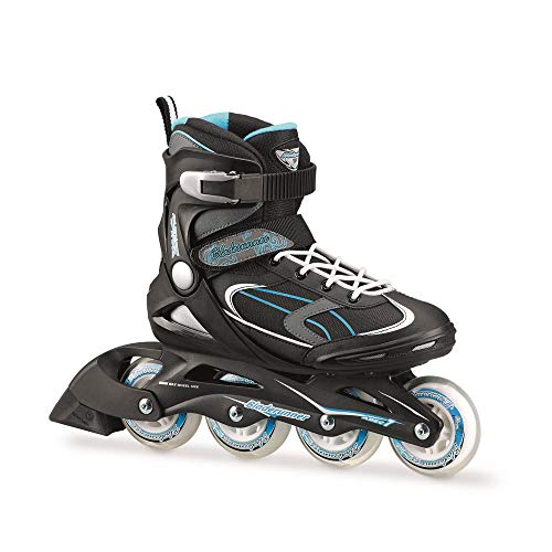 Rollerblade Skates Advantage Pro W, Damen, Schwarz/Hellblau, L