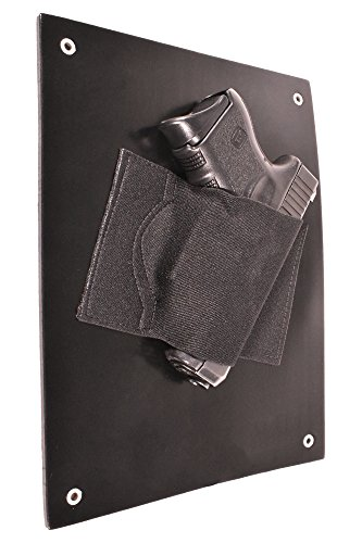 Price comparison product image Bluestone Safety Under The Desk Holster / Bedside Holster / Wall Mounted Tactical Gun Holster / Under The Desk Pistol Gun Holder / Fits Nearly Any Handgun