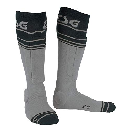 TSG Riot Socken, Grey-Striped, 39-42