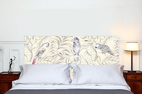 MADEMOISELLE TISS Testiera per Letto Perroquets 160 * 70 cm