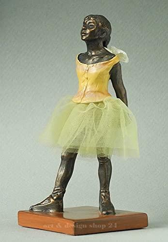 Mini Escultura de la serie Pocket Art - Pequeña Bailarina - resina, 11cm, de un dibujo de Degas #pa07