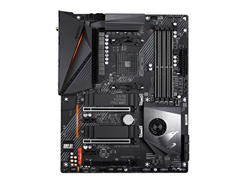 GIGABYTE X570 AORUS PRO WiFi (AMD Ryzen 3000/X570/ATX/PCIe4.0/DDR4/USB3.1/Realtek ALC1220-VB/Fins-Array Heatsink/RGB Fusion 2.0/2xM.2 Thermal Guard/Gaming Motherboard)