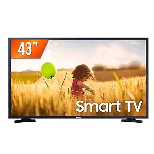 "Smart TV LED 43"" Full HD Samsung LH43BETMLGGXZD, 2 HDMI, 1 USB, Wi-Fi, HDR, Sistema Operacional Tizen e Dolby Digital Plus"