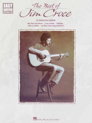 The Best of Jim Croce Songbook (Easy Guitar with Notes & Tab)