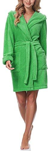 Merry Style Bata con Capucha Mujer 1GN2S (Verde, L)