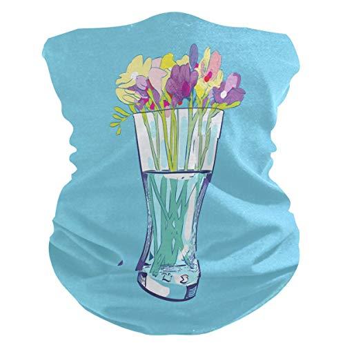 Magic Hoofdband Sun Vaas, bloemenvaas, hals, gamassen, haarband, comfortabel, 12-in-1, voor lopen, klimmen, kamperen