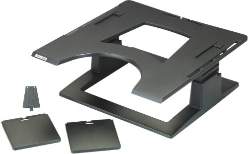 3M Adjustable Notebook Riser LX500 Plate-forme notebook noir