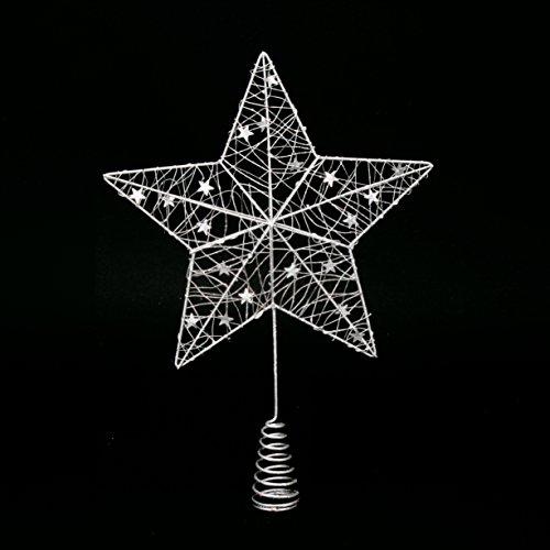 Tannenbaumspitze Stern –Stern für Weihnachtsbaum