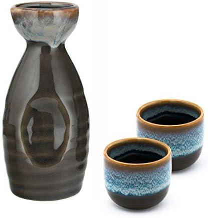 Hinomaru Collection Ichigo Sake Set Genuine Tokkuri Bottle oz fl 5 Fashionable with