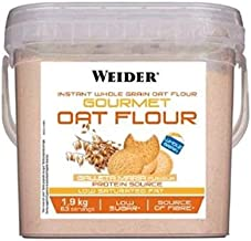 Weider Gourmet Oat Flour - 1,9 kg Brownie