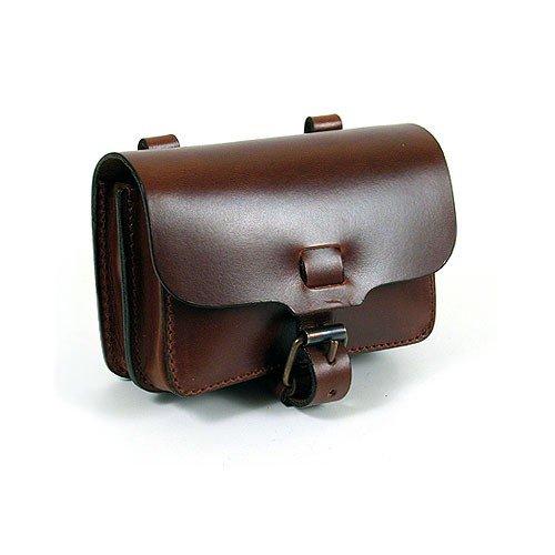 Bauchtasche - Gürteltasche aus Sattelleder v. Shalimar Size: \'L\' Horizontal. Model: Hastings Large Leder Farbe: brown