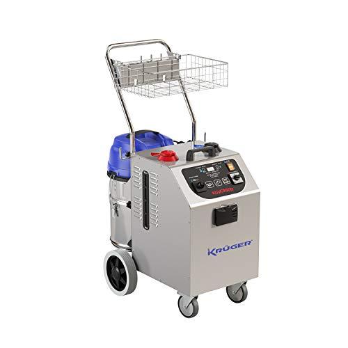 KRUGER Generador de Vapor con aspiración KGVC3500 (230V 3400W + 1200W 8 Bar 180ºC)
