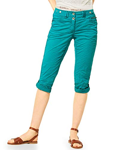 Cecil Damen 373013 New York 22inch Hose, vital Emerald Green, W32/L22