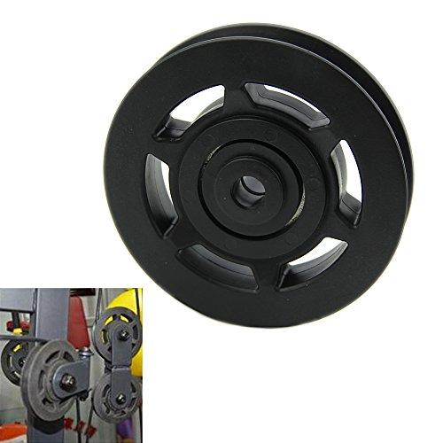 Polea con rodamiento HeroNeo universal de 95mm para aparatos de gimnasia