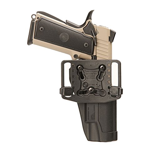 BLACKHAWK Sportster Standard Holster H and K USP Compact with Belt Loop and Right Paddle with Matte Finish