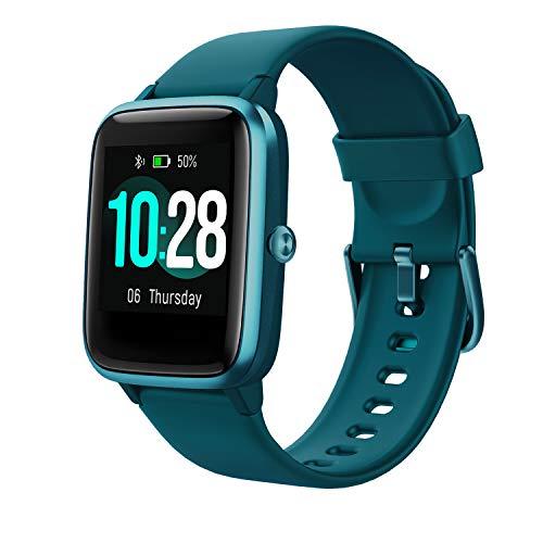 Vigorun Smartwatch Orologio Fitness Impermeabile IP68 Uomo Donna Fitness Tracker Schermo Tattile 10 Giorni Durata Cardiofrequenzimetro da Polso Contapassi Activity Tracker for Huawei Samsung