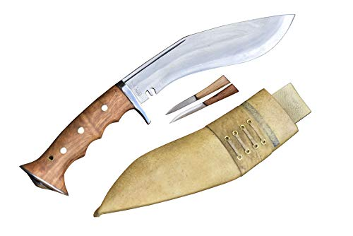GK&CO. Kukri House Blade 8 Inch Iraqi Panawal White Working Knives Handmade Nepal