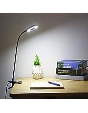 LED Clip Bureaulamp, Make-up Tattoo LED-licht, Tattoo Leeslicht, LED Clip op Licht, Draagbare Clip Lamp, USB Oplaadbaar, Helderheid voor Oogbescherming, Perfect voor Nachtlezen, Slaapkamer, Tattoo Lamp