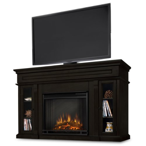 Hot Sale Real Flame Lannon 3300-X-E Electric Fireplace in Espresso - MANTEL ONLY