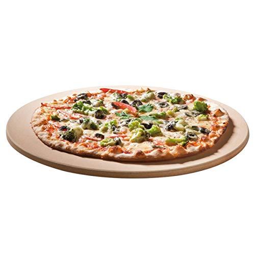 SANTOS Pizzastein für Backofen & Grill, Rund, Ø 36,5 cm