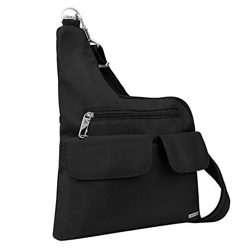 Travelon Anti-Theft Cross-Body Bag, Black