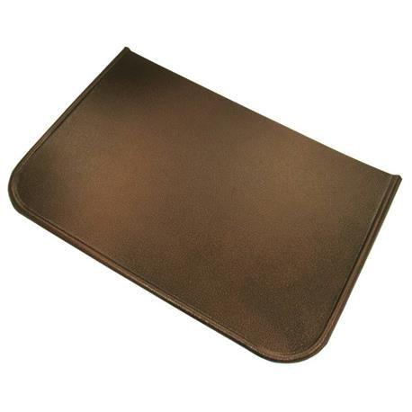 Blech vor einem Kamin 40x60cm Farbe Kupfer antik