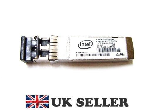 Genuine Original Dell Intel AFBR-703SDZ 1G /10G 10GB/s SFP+ SR 850nm Transceiver Module , Dell P/N : R8H2F , BRAND NEW , FREE DELIVERY