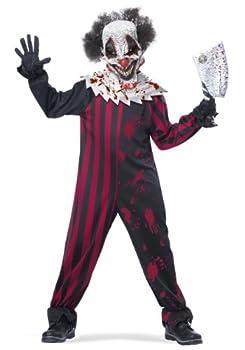 Boys Killer Clown Costume X-Large  12-14