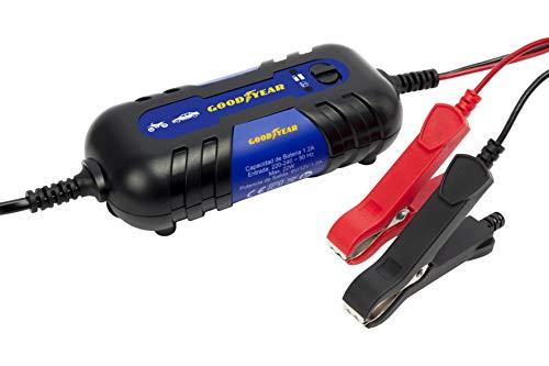 GOODYEAR GOD0017 Chargeur de batterie LED 1.2A, 1.2 Amp