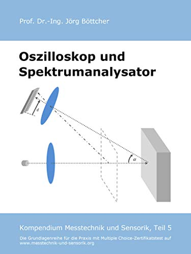 Oszilloskop und Spektrumanalysator: Kompendium Messtechnik und Sensorik, Teil 5 (Das Kompendium Messtechnik und Sensorik in Einzelkapiteln)