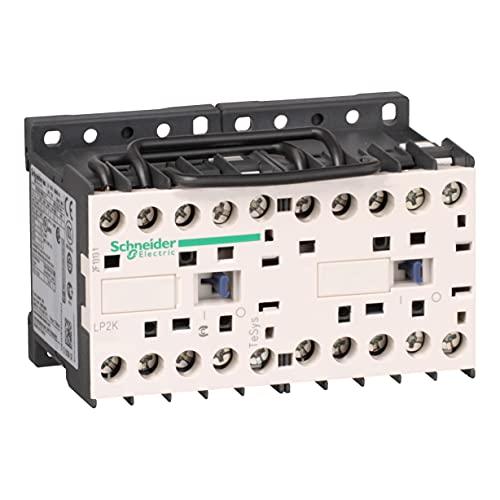 Schneider Electric LP2K0910BD TeSys K Contactor Inversor 3P AC-3, 440 V 9 A, Bobina 24 V CD