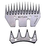 Oferta juegos peines y cuchillas para Esquilar Ovejas de la marca Beiyuan, valida para Heiniger, Oster, Supershear, gts, shearmaster, super-profi, kerbl, profiline (1)