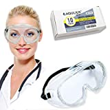 10 Pack of Safety Goggles (10 Pack Protective Goggles) Crystal Clear Eye Protection - Perfect for Construction, Shooting, Lab Work, and More!