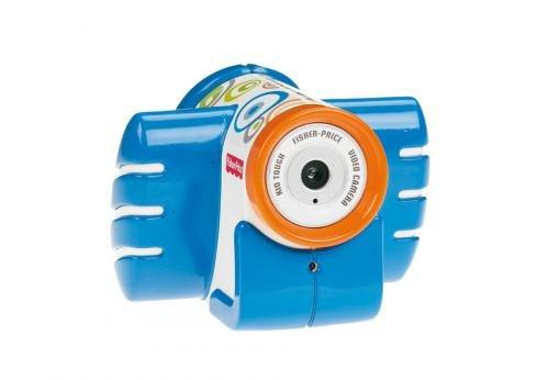 Fisher-Price Mattel - T5157 Camera Video - Antichoc - Bleue