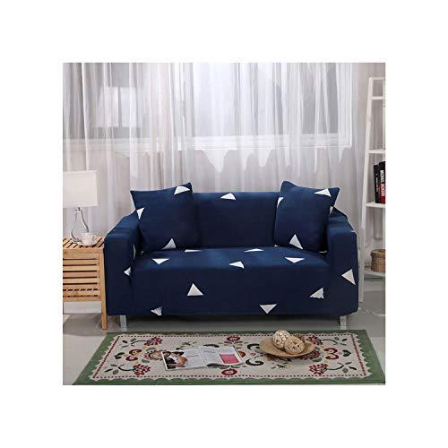 Edmund Abe Stretch Schonbezüge Sectional Elastic Stretch Sofa Bezug für Wohnzimmer Couch Bezug L-Form Sesselbezug Single/Two/Three Seat Farbe 19 3-Sitzer 190-230Cm