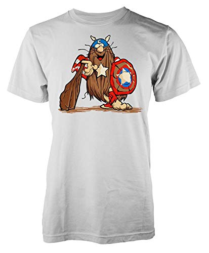 Captain Caveman America Mashup T-shirt, Adults and Kids Sizes