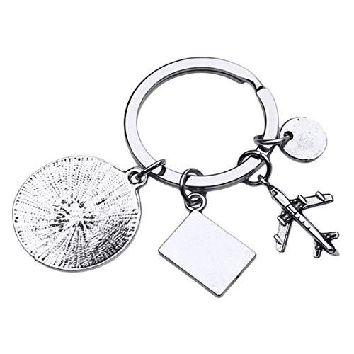 LHHA Vivez Vos rêves Flying Dream Travel Keychain Graduation Crew Gift Bag Car Pendants Accessories