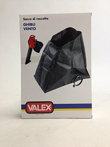 VALEX GHIBLI VENTO AUFFANGSACK für LAUBSAUGER Valex MERAK 2200, VENTO 2400, SHAMAL 1600, SHAMAL 1800, GHIBLI 2000, BORA 2200, GHIBLI 2000-60L gelb und SHAMAL 1800-50L rot und für Grizzly Tools Laubsauger LS 2000-60 Gelb und LS 2005-40L