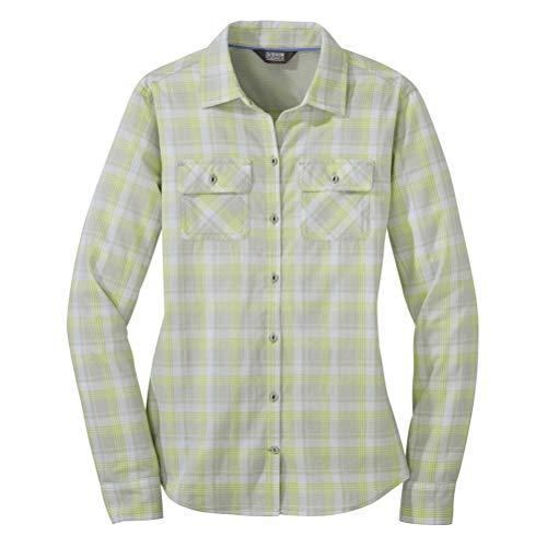 Outdoor Research Passage L/S Women's Shirt alloy plaid L